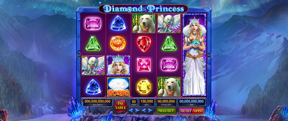 Diamond Princess Casino Games